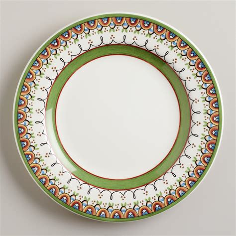 dinner dishes passaro dinner plates set of 4 world market