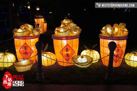 new year lantern display 2018 hong kong new year lantern carnival and