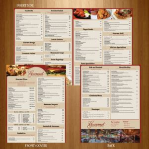 menu design norway 22 elegant serious menu designs for a business in united