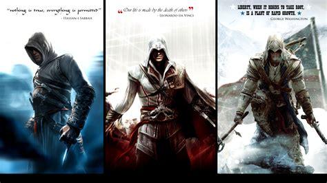 Kaos Fullprint Assassin S Creed altair ibn la ahad assassin assassins creed 2 3 connor