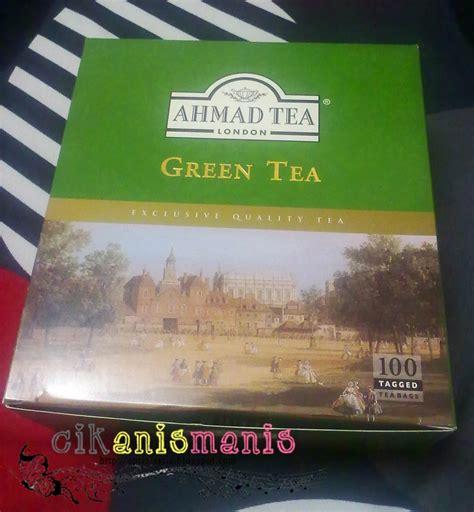 Teh Hijau Ahmad memories jom minum teh hijau green tea