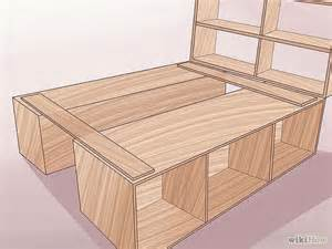 Make A Bed Frame From Wood Build Wood Bed Frame Woodworking Projects