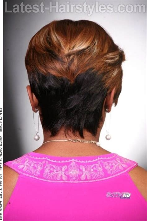 short pixie haircuts with feathered sides 16 side swept hairstyles for black women with class