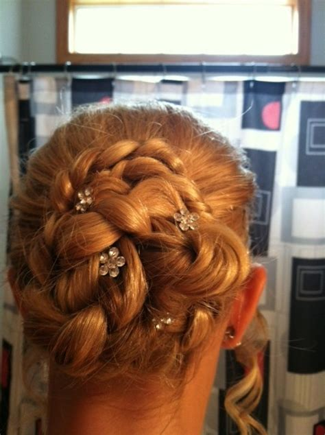 cute hairstyles for 6th grade dance hairstyley just did paige s hair for 8th grade promotion called a