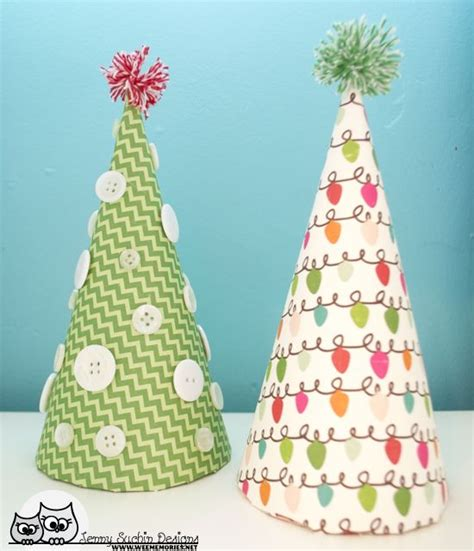 paper christmas tree hat pattern christmas paper crafts are a great way to decorate for the