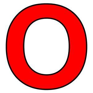 O bogstavet o r 248 d udgave af vokalen o