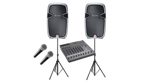 Mixer Audio Sound System jbl speakers and mixers deluxe c 187 aa rental