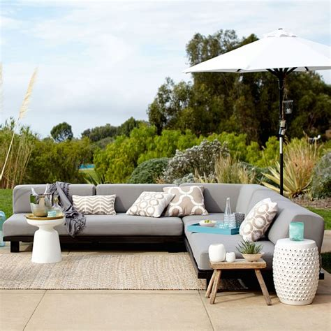 west elm tillary outdoor sofa west elm tillary sofa outdoor refil sofa