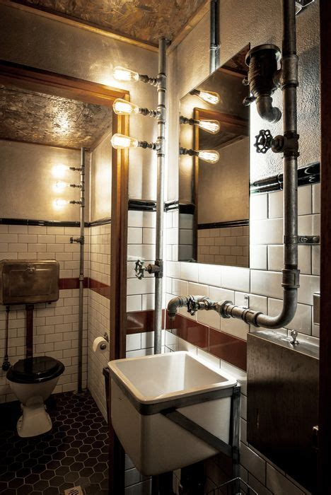 Industrial Style Bathroom Accessories 17 Best Ideas About Steunk Bathroom On Black Pipe Octopus Decor And Pirate Bathroom