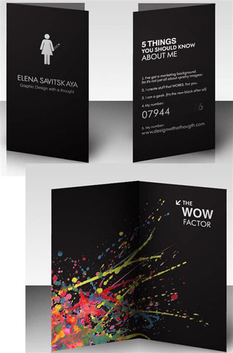 graphic designer business card for savistskaya