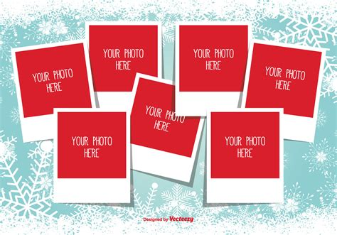 Christmas Photo Collage Template Download Free Vector Art Stock Graphics Images Free Photo Templates