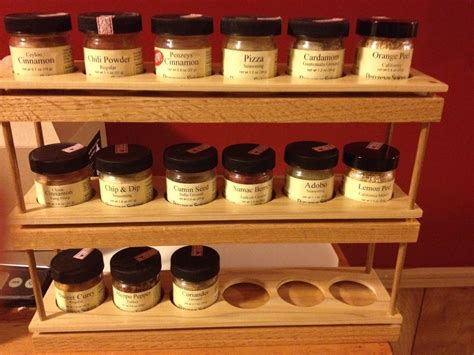 Penzeys Spice Rack simple spice rack by agentskwerl lumberjocks woodworking community