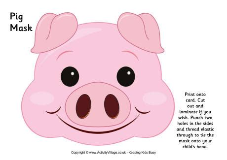 printable pig nose mask mask clipart pig pencil and in color mask clipart pig