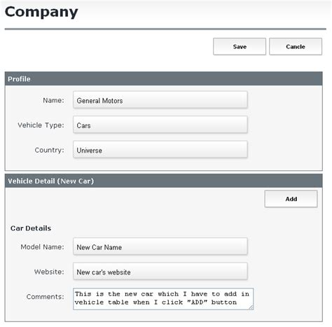 design form in yii how to embed quot create form quot inside quot update form quot in yii