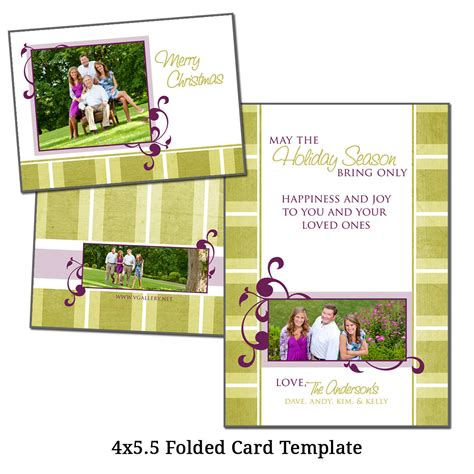 4 x 5 5 folded card template 4x5 5 folded card template by