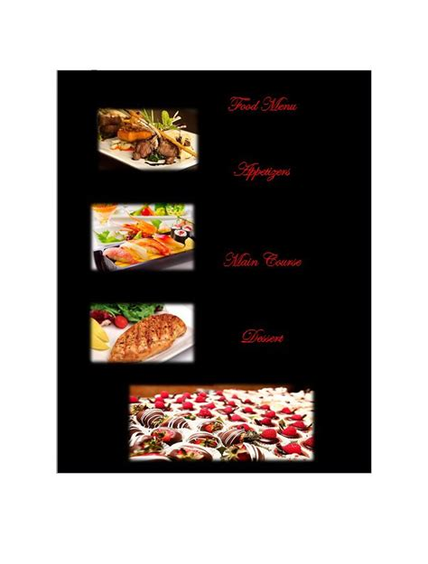 menu design ideas template 30 restaurant menu templates designs template lab