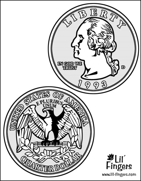 Coloring Page Quarter by How To Draw Idaho Quarter