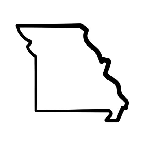 Missouri State Outline by Missouri Clip Free Clipart Panda Free Clipart Images