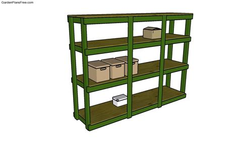 Storage Shelf Plans Free by Garage Cabinets Plans Free Garden Plans How To Build