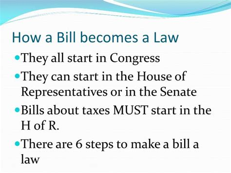 How Many In The House Of Representatives by Ppt How Are Bills Made Into Laws Powerpoint
