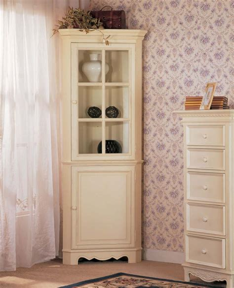 Lovely White Tall Corner Cabinet Best Free Home White Corner Cabinets For Kitchen
