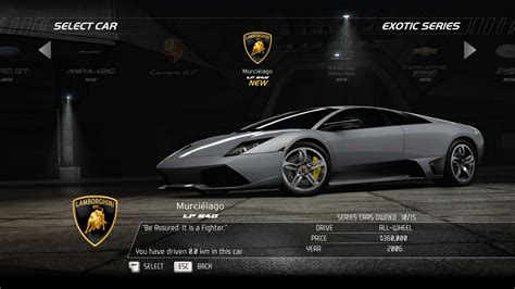 car selection need for speed hot pursuit screenshots for windows mobygames