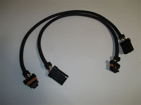 4 wire connector two 24 gm ls1 oxygen o2 sensor extension harnesses 4