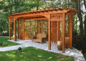 Spell Backyard Pergola Trellis Pdf Woodworking