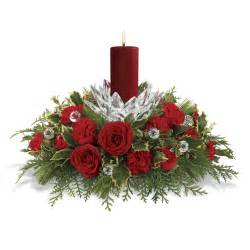 give holiday cheer with designer floral arrangements and