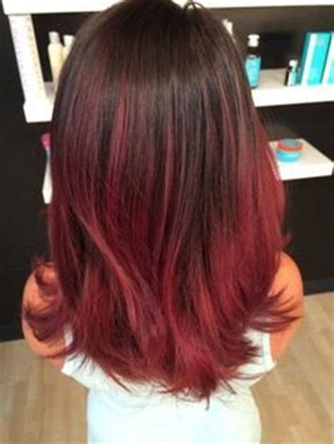bob brunette ombre bob ashleigh mclean 1000 images about cabelos roxos on pinterest red violet