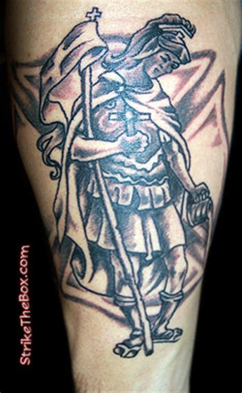 st florian tattoo designs firefighter