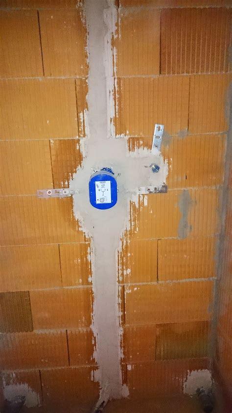 Unterputz Armatur Dusche Einbauen by Sanit 228 R Heizungsinstallationsarbeiten Verlegen Der Rohre