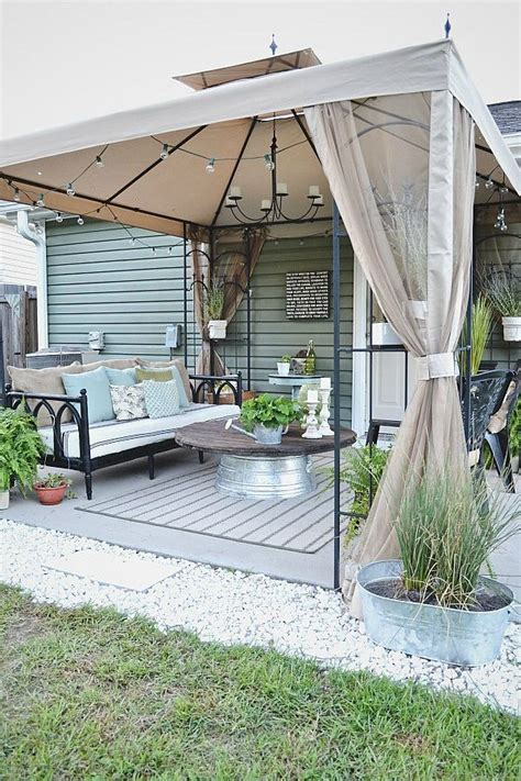 low budget backyard makeover back patio makeover full reveal source list