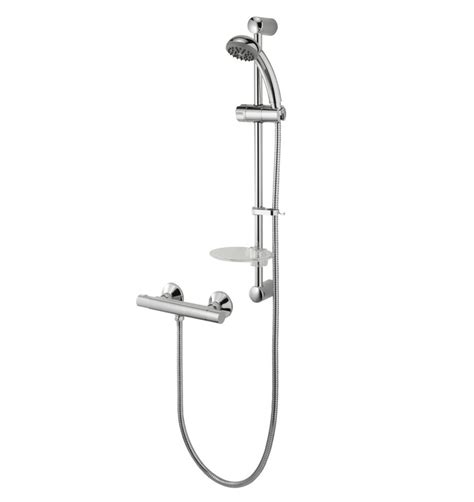 Deva Thermostatic Bath Shower Mixer deva kestrel cool touch thermostatic bar mixer with shower