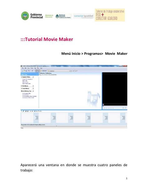 tutorial movie maker doc tutorial movie maker