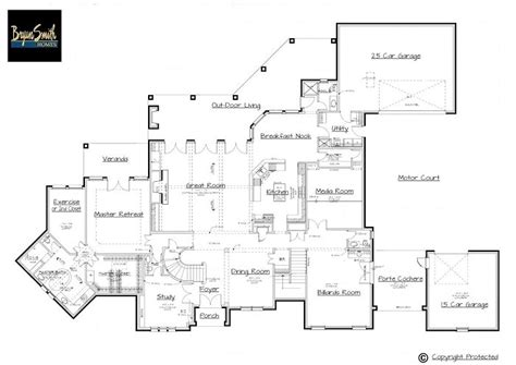 Million Dollar Home Plans | million dollar home floor plans billion dollar homes