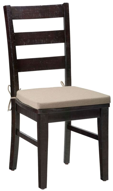 rung of a chair prospect creek pine three rung ladderback chair set of 2