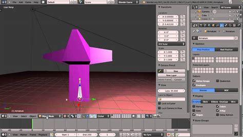 tutorial blender armature blender 2 63a tutorial basic armatures and bones part