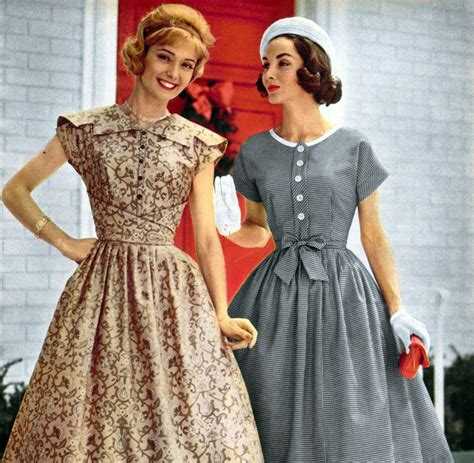 fashion in 1950s clothing styles trends pictures