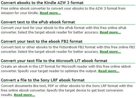 ebook format azw how can i convert ebooks to kindle the best free