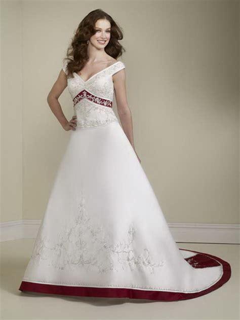 Hochzeitskleid Wei by Hochzeitskleid Weiss Rot