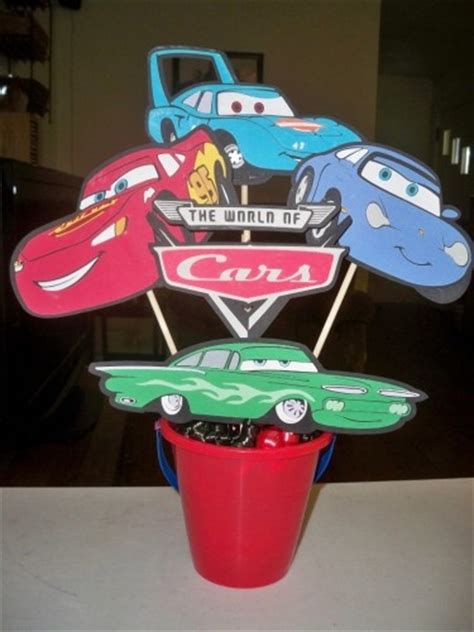 27 Best Max S Cars Birthday Party Images On Pinterest Disney Cars Centerpiece Ideas