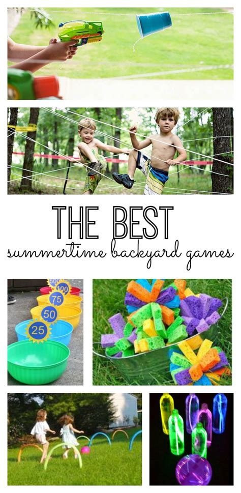 backyard kids games the best summertime backyard games