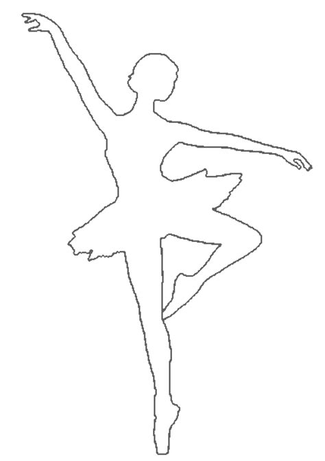 Dancer Outline by Outline Of A Dancer Colouring Pages Page 3