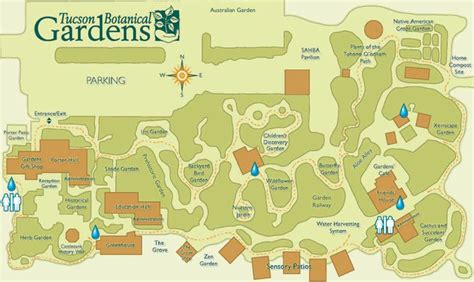 1000 ideas about botanic garden map on