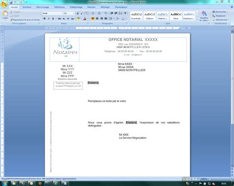 creating header and footer in word showing word header footer in richtextbox 2011 q2 dont t