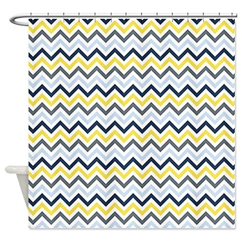 Best rated navy chevron shower curtain with image 183 showercurtain 183 storify