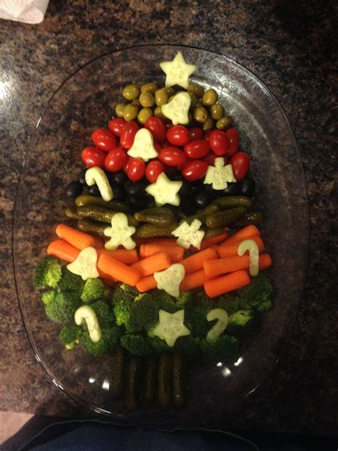 christmas tree relish tray tree relish tray