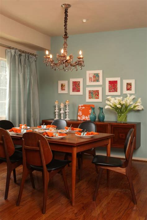 fresh calm transitional dining room features floating