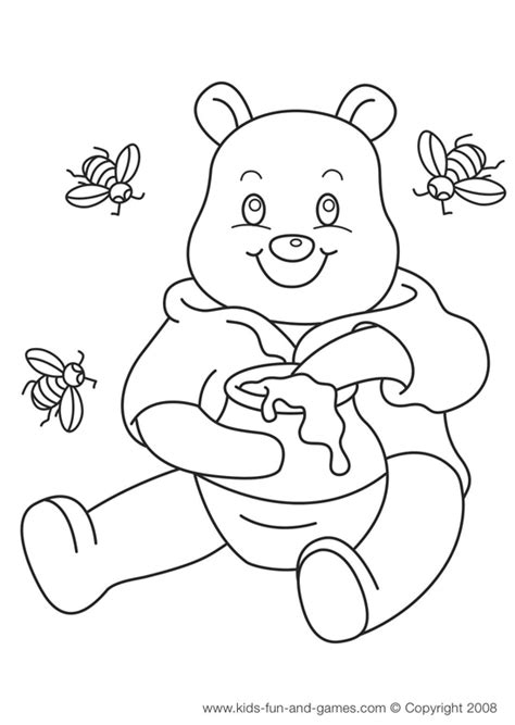 winnie pooh coloring pages games winnie pooh to color imagui